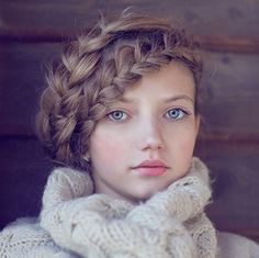 cute hair, for an ADORABLE girl - Why Knot: 19 High Fashion Braids via Brit + Co.