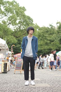 Name: Koresuke Arishima | 有島コレスケ Occupation: told / 0.8秒と衝撃。/ 即興 / BOYLY Top: Ka na ta | カ ナ タ T-shirt: BOYLY Entertainment Trousers: Us...