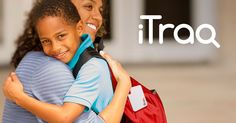 Attach the iTraq to Their Bagpack and Feel Safe Knowing Where They Are