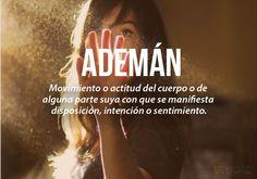 Ademán