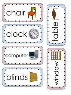 Labeling common items found in your classroom is a great literacy strategy for English language learners. Ells will begin to build their vocabulary skills and become familiar with their classroom environment. Make it an activity by having your students label the classroom for you.