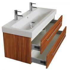 Lanzet C7 Waschtischunterbau für Keramag iCon 120 Pinie Jetzt
