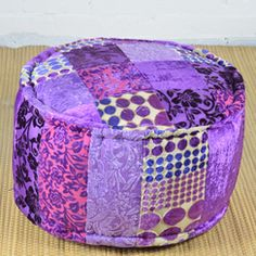 Pouf Braso Round with Cotton Filling P1001