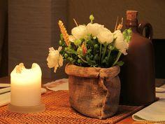 Tischdeco, Kerzen
