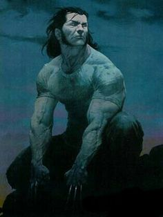 Wolverine by Esad Ribic Marvel Wolverine, Marvel Vs, Marvel Comics Art, Marvel Comic Universe, Comics Universe, Anime Comics, Logan Wolverine, Marvel Comic Character, Comic Book Characters