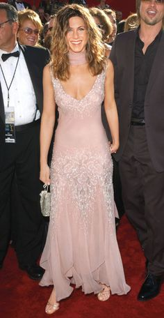 200 Celebrity Looks We Love - Jennifer Aniston in Christian Dior, 2002 from #InStyle