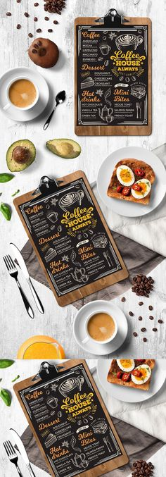 Creative and modern drink menu template for your restaurant business.This template can be used for vintage menu, printable menu, wedding menu, restaurant menu, food menu inspiration. Coffee Shop Menu, Coffee Barista, Coffee Creamer, Coffee Cafe, Hot Coffee, Iced Coffee, Coffee Gifts, Coffee Shops, Starbucks Coffee