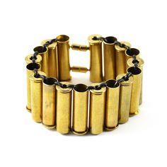 BULLET CASING CUFF | Gun, Shell, Gold Jewelry, Statement Piece | UncommonGoods
