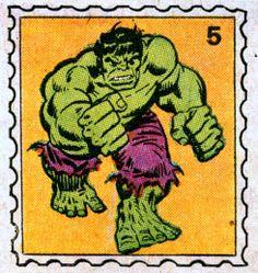 hulk marvel value stamp