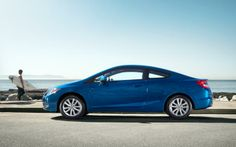 The 2012 Honda Civic Coupe. #whataride