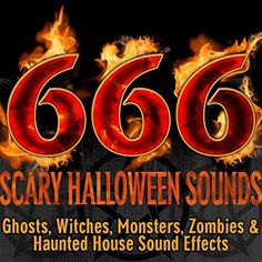 Scary Halloween Sounds (Ghosts, Witches, Monsters, Zombies & Haunted House Sound Effects) by Halloween FX Productions Halloween Sounds, Halloween Ghosts, Halloween Party, Horror Music, Scary Sounds, Zombie Attack, Sound Effects, Zombies, Witches