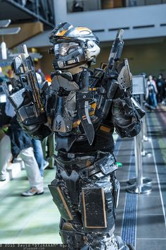 """David """"DTJAAAAM"""" Ngo's photo galleries featuring thousands of cosplay pictures from anime, video game, and comic book conventions across the USA. Halo Cosplay, Best Cosplay, Pax South, Halo Spartan, Halo Armor, Halo Master Chief, Halo Series, Fallout Art, Zombie Hunter"""