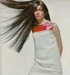 Françoise Hardy photographed by Richard Avedon, 1967.1960s fashion