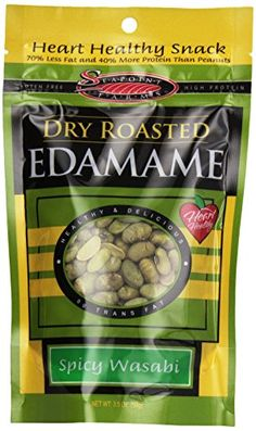 Seapoint Farms Edamame Dry Roasted Wasabi Low Fat 35 oz *** You can get more details by clicking on the image.