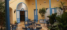 Hotel Mascotte #Remedios #VillaClara - Overall the Hotel Mascotte is beautiful, with high ceilings and recently renovated, its spacious. Rooms have a minibar, large bathroom, and comfortable beds. TV offers an assortment of international channels also. #cubatravel http://cubavillaclara.com