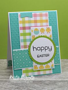 The best things in life are Pink.: Echo Park's Hello Easter - 31 cards from one 6x6 paper pad