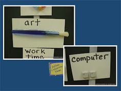 Autism Classroom News: Visual Schedule Series: Object Schedules