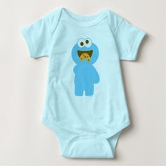 Baby Cookie Monster Eating