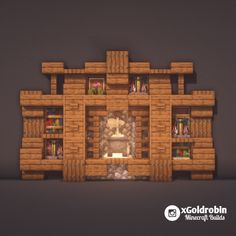 Minecraft Is The Coolest Casa Medieval Minecraft, Easy Minecraft Houses, Minecraft Plans, Minecraft Room, Minecraft Survival, Minecraft Tutorial, Minecraft Blueprints, Minecraft Crafts, Minecraft Furniture