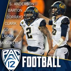Seven Cal Players Honorable Mention All-Pac-12 @s_anderson89 @barton_ate @ckb321 @austinc54 @jaredgoff @chunkupthadeuce @b_mcgov