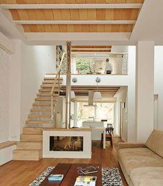 56 Trendy Home Exterior Decor Design Loft Design, Tiny House Design, Small Apartments, Small Spaces, Loft House, Tiny House Living, Living Room, Lofts, Trendy Home