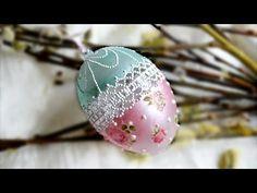 Видео МК - Пасхальные идеи Как декорировать прозрачное пластиковое яйцо. Обсуждение на LiveInternet - Российский Сервис Онлайн-Дневников