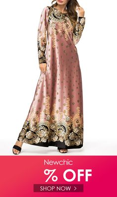 I found this amazing Elegant Muslim Print Floral Maxi Velvet Dress with US$52.99,and 14 days return or refund guarantee protect to us. --Newchic #Womensdresses #womendresses #womenapparel #womensclothing #womensclothes #fashion #bigdiscount #shopnow Cheap Maxi Dresses, Women's Dresses, Formal Dresses, Floral Maxi, Fashion 2020, Muslim, Velvet, Clothes For Women, Amazing