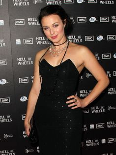 """Robin McLeavy Photos - Premiere Of AMC's """"Hell On Wheels ..."""