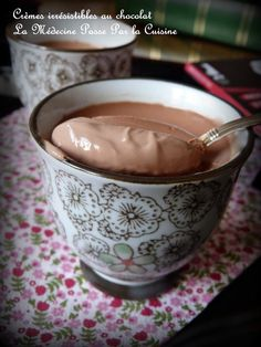 Petits pots de crème au chocolat irrésistibles