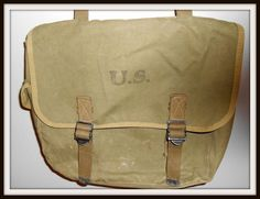 US Army Musette Haversack Bag WWII Johansen 1944