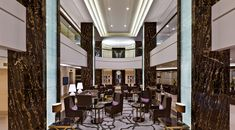 Waldorf Astoria Berlin - Lobby designed by Inter Art Etudes