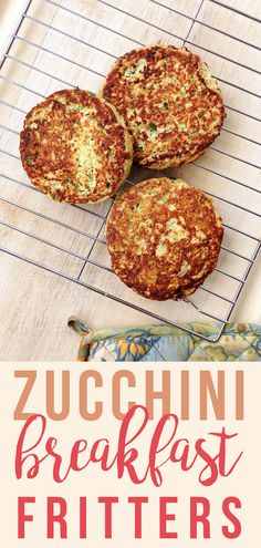 Zucchini Fritters (Grain/Dairy/Sugar-Free)   Fresh Planet Flavor