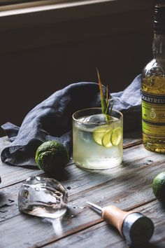 Chartreuse and Tequila Milk Punch