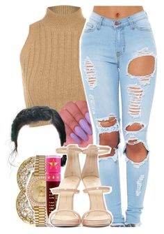 """884"" by tuhlayjuh ❤ liked on Polyvore featuring WearAll, Jamie Wolf, Rolex, Jeffree Star and Giuseppe Zanotti"