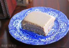 Raw & vegan ginger slice from Beautifully Real Food, made gluten free!