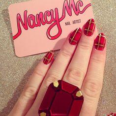 christmas by nancy_mc  #nail #nails #nailart