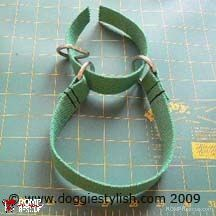 martingale collar, diy ,do it yourself, guide, how to, italian greyhound, greyhound, fleece, italian greyhound collar, diy dog collar, dog, collar, iggy, sewing, pattern