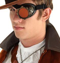 Cyber Goggles - Vintage Monogoggle /Eyepatch