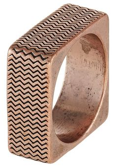 Pedir  Icon Brand SURFACE - Anillo - copper-coloured por 19,95 € (28/10/16) en Zalando.es, con gastos de envío gratuitos.