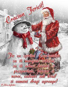 Fie ca spiritul Crăciunului să iți mângăie sufletul, să iți aducă bucurii și prosperitate, fericire și noroc, cadouri sub brad și oameni dragi aproape! Christmas Wishes, Christmas Time, Holidays And Events, Christmas Tree Decorations, Holiday Cards, Diy And Crafts, Merry Christmas, Winter, An Nou Fericit