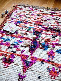Secret Berbere carpets, styling Miluccia. © Julie Ansiau