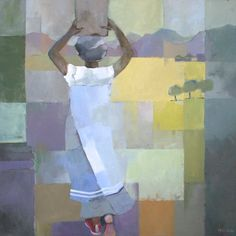 Discover abstract and figurative oil paintings by Angela Wilson at Cricket Fine Art. Oil On Canvas, Africa, Fine Art, Portrait, Abstract, Illustration, Artist, Cricket, Paintings