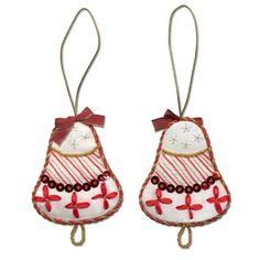 Bell Ornament Embroidery Kit