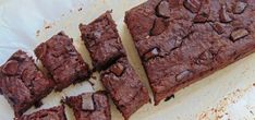 chocolate bean brownie recipe via red cordial revolution saralies No Sugar Desserts, No Sugar Foods, Just Desserts, Delicious Desserts, Yummy Food, Almond Recipes, Raw Food Recipes, Sweet Recipes, Dessert Recipes