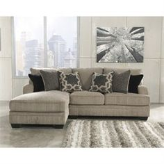 Ashley Furniture 2 Piece Sectional barley aquaria 2-piece sectional. ashley furniture $1,199
