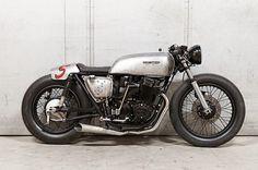 8negro: Honda CB750:: Made Men Bikes