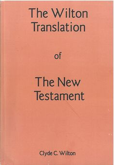 Wilton NT Cover, Bible In My Language