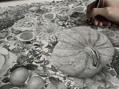 """Xavier Casalta is a 23 year old artist from Paris, France. His piece """"Autumn"""" is part of a series representing the four seasons. It's also the result of 370 hours of meticulously inking 7 million dots to create everyshape and … Continue reading →"""