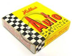 Hellas Auto-pastilleja (1960-luvulta?)