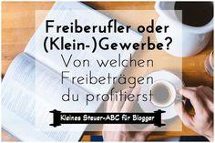 Bloggen für Geld: Unterschied Freiberufler Kleingewerbe Wer mit dem Bloggen Geld verdient, muss sich früher oder später auch um Steuern & Krankenversicherung kümmern. Zunächst sollte aber erst einmal eine Steuernummer beantragt werden. Zählst du zu den Freiberuflern, musst du kein Gewerbe anmelden und (scheduled via http://www.tailwindapp.com?utm_source=pinterest&utm_medium=twpin&utm_content=post124090581&utm_campaign=scheduler_attribution)
